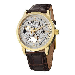 Stuhrling Original Men's Delphi Saros Automatic Strap Watch