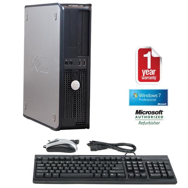 Dell OptiPlex 760 Core 2 Duo 3.0GHz 4GB 1TB Windows 7 Pro 64-bit Desktop PC (Refurbished)
