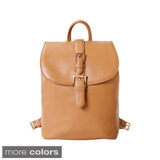 Isaac Mizrahi Mini Kathryn Genuine Leather Camera/ Tech Backpack