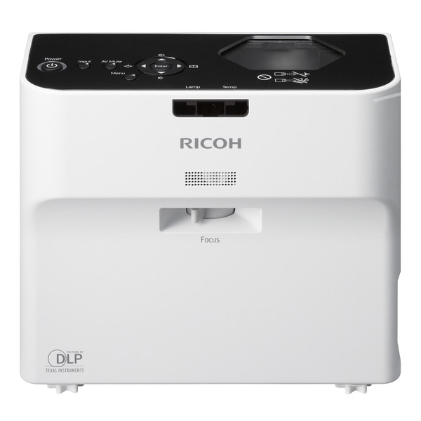 Ricoh PJ WX4130N 2500lm WXGA Ultra Short Throw DLP Network Projector