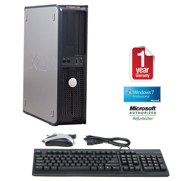 Dell OptiPlex 780 Core 2 Duo 3.0GHz 4GB 1.5TB DVD Windows 7 Pro 64-bit Desktop PC (Refurbished)