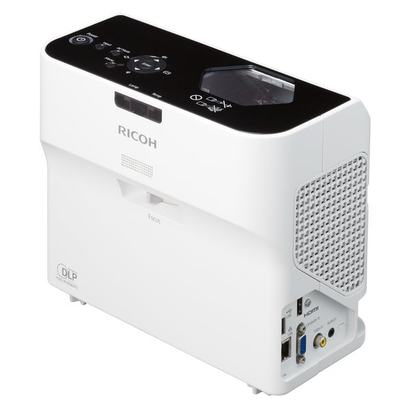Ricoh PJ WX4130 2500 lm WXGA Ultra Short Throw DLP Projector