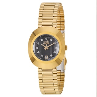 Rado Women's 'Original' Yellow Goldplated Swiss Quartz Watch