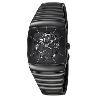 Rado Men's 'Sintra Automatic' Ceramic Chronometer Skeleton Watch