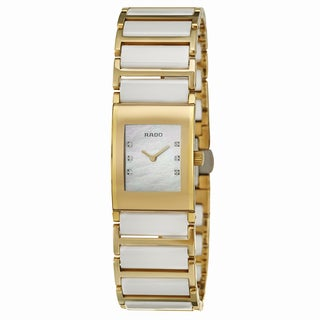 Rado Women's 'Integral Jubile' Yellow Gold PVD-coated Stainless Steel Swiss Watch