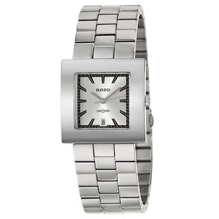 Rado Men's 'Diastar' Stainless Steel Swiss Quartz Watch