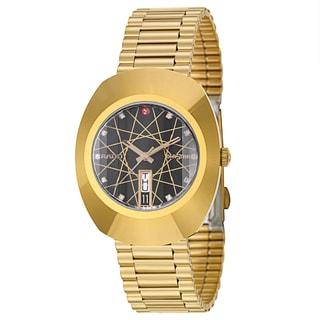 Rado Men's 'Original' Yellow Gold-plated Swiss Mechanical Automatic Watch