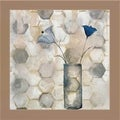 Carrie Narducci 'Blue Flower I' Framed Wall Art