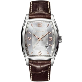 Hamilton Men's Jazzmaster Tonneau H36415555 Automatic Watch