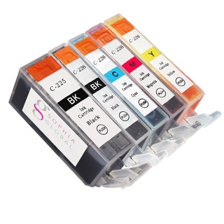 Sophia Global Compatible Ink 5-cartridge Replacement Set for Canon PGI-225 CLI-226
