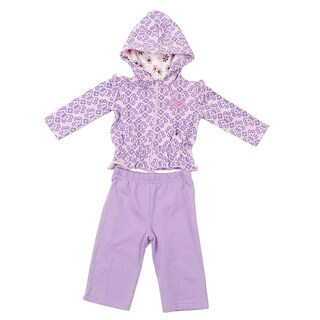 Kathy Ireland Girl's Knit Butterfly 2-piece Jacket Set
