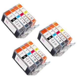 Sophia Global Compatible Ink Cartridge Replacement for Canon PGI-225 CLI-226 (Remanufactured) (Pack of 12)