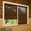 Premium Chocolate Linen Look Window Shade