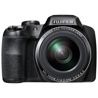 Fujifilm FinePix S9200 16.2 Megapixel Bridge Camera - Black