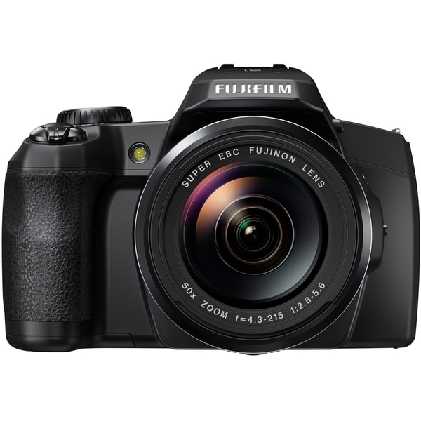 Fujifilm FinePix S1 16.4 Megapixel Bridge Camera - Black