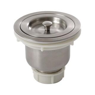 Ticor 3.5-inch Stainless Steel Kitchen Prep Basket Strainer Drain