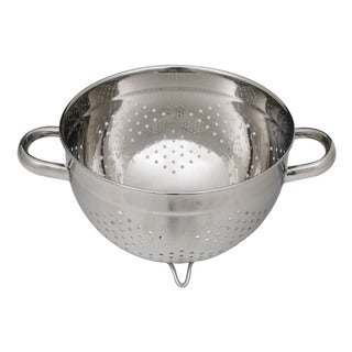 Ticor 9.75-inch Stainless Steel Pasta Colander