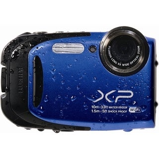 Fujifilm FinePix XP70 16.4 Megapixel Compact Camera - Blue