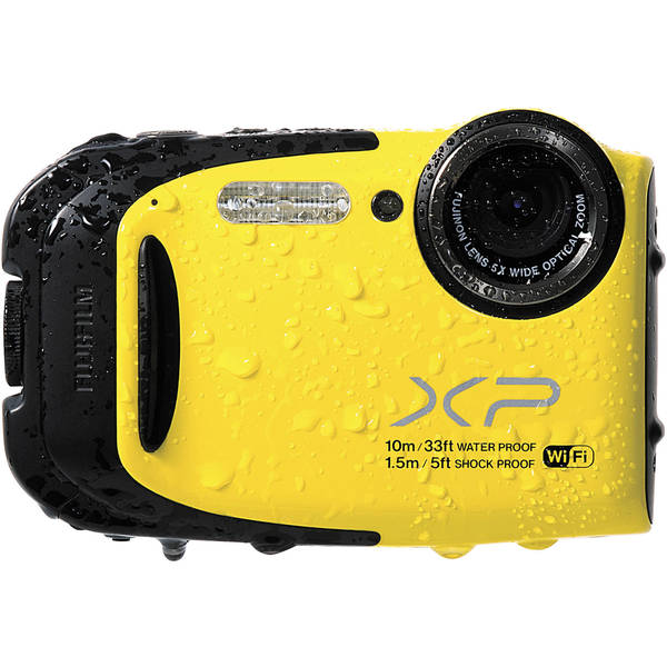 Fujifilm FinePix XP70 16.4 Megapixel Compact Camera - Yellow