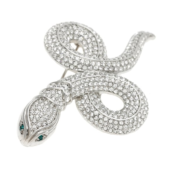 Carolee Year of the Snake Crystal Pin