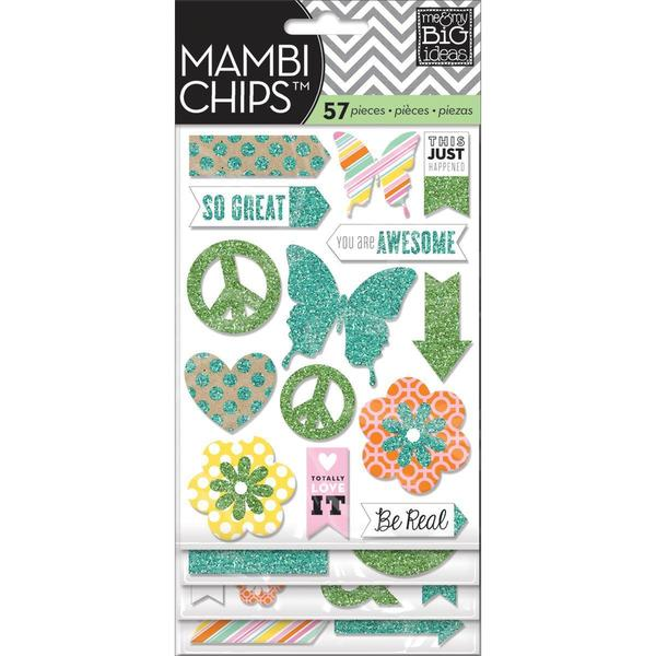 Chipboard Stickers 4 Sheets - You Are Awesome