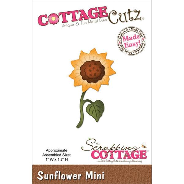 CottageCutz Mini Die 1.75 X1.75 - Sunflower