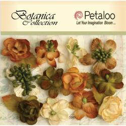 Botanica Minis 11/Pkg - Ivory/Green/Brown