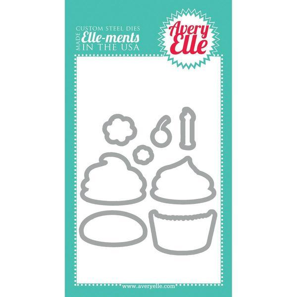 Elle-Ments Dies - Cupcakes