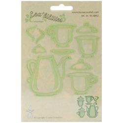 Lea'bilities Cut & Emboss Dies - Tea Set