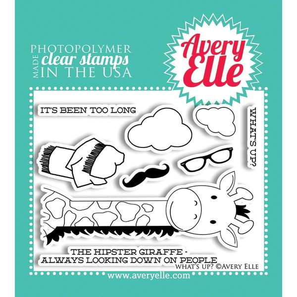 Avery Elle Clear Stamp Set 4 X3 - What's Up