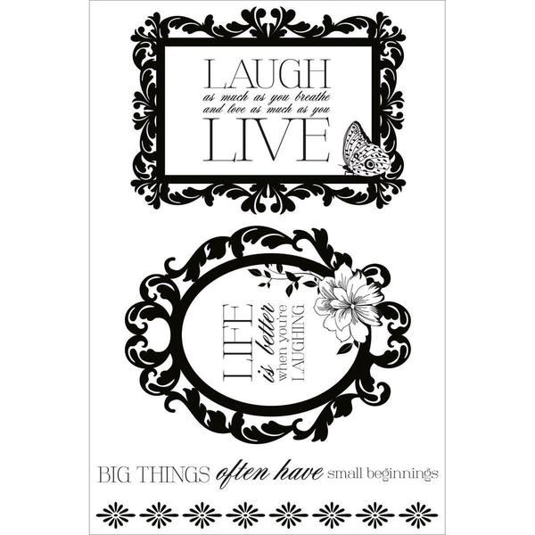 Violet Crush Clear Stamps 6.25 X4 (16cm X 10cm) -