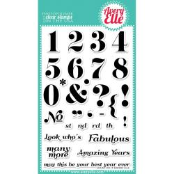 Avery Elle Clear Stamp Set 4 X6 - Count On It