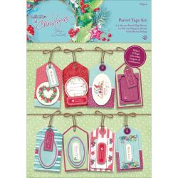 Papermania At Christmas Parcel Tags Kit -