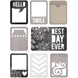 Die Cut Cards & Envelopes - Blackboard