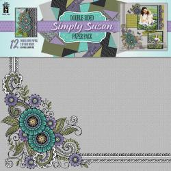 Hot Off The Press Paper Pack 12 X12 12/Sheets - Simply Susan