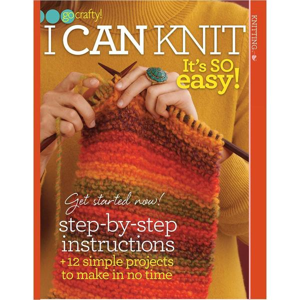 Soho Publishing - I Can Knit-It's So Easy!
