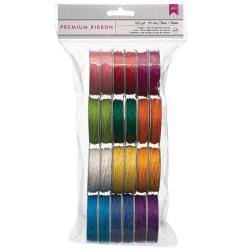 Value Pack Hemp Twine 5 Yards/Spool 24/Pkg - 12 Bright Colors/2 Each