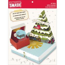 SMASH Seasonal Gift Boxes 17-1/2 X7-1/2 X3/4 - 3 Boxes