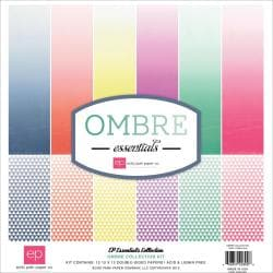 Essentials Ombre Collection Kit 12 X12 - 12 Double-Sided Papers