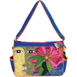 Medium Tote Zipper Top 15 X4-1/2 X11-1/2 - Blossoming Spirit