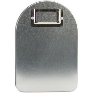 Medium Tin Mailbox W/Flag & Label Holder - 6 X8 X4