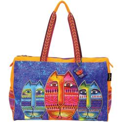 Travel Tote W/Zipper Top 21 X8-1/4 X16 - Three Amigos