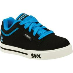 Boys' Skechers Vert 2 Black/Light Blue