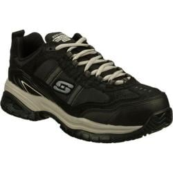 Men's Skechers Work Relaxed Fit Soft Stride Grinnell Comp Black/Gray