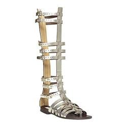 Women's Steve Madden Sparta Platinum Leather