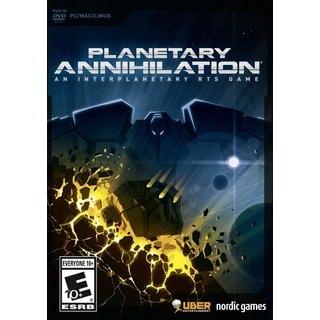 PC - Planetary Annihilation