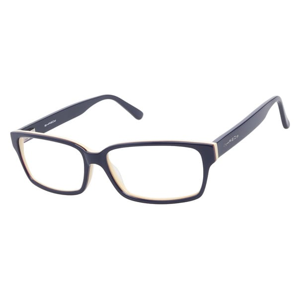 R. Hardy 9027 Navy Prescription Eyeglasses