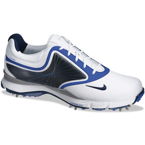 Nike Women's Lunar Links III White/ Black/ Blue Golf Shoes