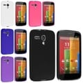 BasAcc Colorful TPU Gel Rubber Flexible Skin Cover Case for Motorola Moto G