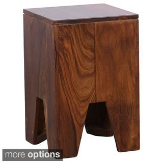 Paxston Hand-finished Sheesham Wood Stool